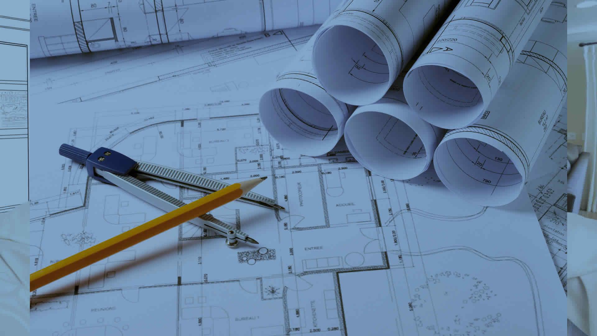 Plan architecte
